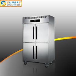 Cuisine congélateur vitrine réfrigérée 4 portes capacité 865L