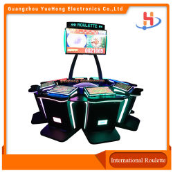 Machine van het Spel van de Roulette van PCB van de Raad van de Lijst van het Casino Bingo van het Ontwerp van de luxe de Muntstuk In werking gestelde Elektronische