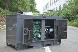 ATS Algodón insonorizados generador diésel eléctrico de potencia silenciosa 25kVA-100kVA de pulverización electroestática.