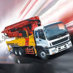 Concrete Machines 37m de Vrachtwagen van de Concrete Pomp met Chassis Dongfeng