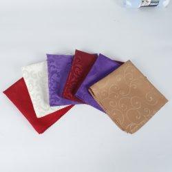 100%年のポリエステルホテルのAirlinのテーブルクロスのコップの布のナプキン