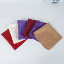 RPET 100% Polyester Hotel Airlin Table Cloth Cup stof Napkin