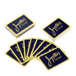 O logotipo personalizado de Design Personalizado papel impresso Cartas de jogar poker de PVC