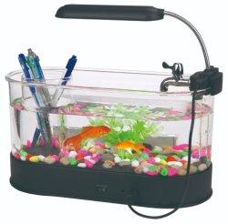個人化されたアクリルの小型魚飼育用の水槽のゆとり透過水容器