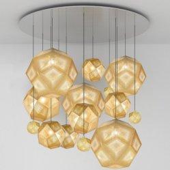 Le fer gravé lanterne, de luminaires décoratifs, lampe et abat-jour
