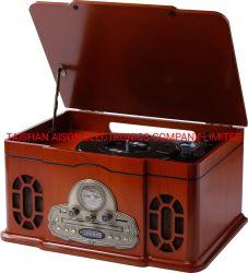 Neue Produkt-hölzerner Kasten-Schwenktisch-Musik-Lautsprecher für Geschenk