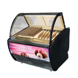 Gelato Affichage de la crème glacée Show Case Modèle de type armoire