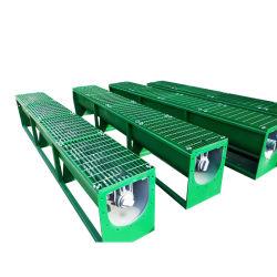 Transportador de parafuso de lama para a gestão dos resíduos de perfuração, perfuração de eliminação de estacas