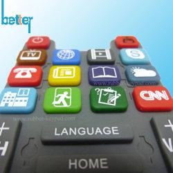 Cassa su ordinazione della tastiera di posizione del silicone di colore di Overmoulding Muti/coperchio della tastiera compatibile