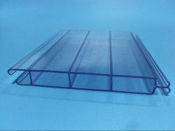 Extrusión de plástico PMMA perfiles y tubos