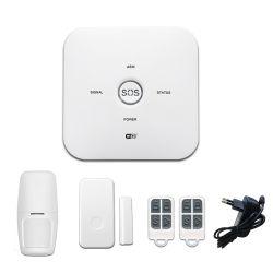Haus-Einbrecher-drahtloses Rauchmelder-Feuersignal-Einbruch-Alarm WiFi Warnungssystem