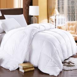 Роскошный хлопчатобумажной ткани отель одеялом 90% белого утка вниз стеганых матрасов