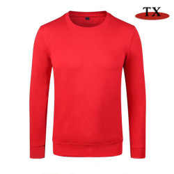 No Outono de 2019, nova camisola Casual Algodão Terry Long-Sleeved Sports Camisa de Desgaste