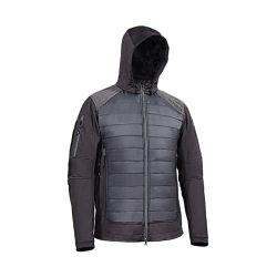 Moda preto Mens fixa à prova de água e de Inverno jaqueta de táctica, lubrificar