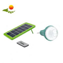 A luz solar Camping Kit de painéis solares 3W lâmpada LED Lanterna Recarregável & Flashlamp