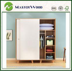 침실 또는 홈 또는 호텔 가구를 위한 피복 또는 미닫이 문 /Portable/Foldable/Six 현대 적합하던 Wood/MDF/Particle 널 또는 문 또는 아기 또는 옷장 또는 나무로 되는 내각 옷장