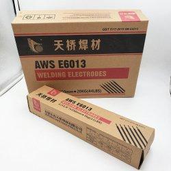 La Chine J421 Baguette de soudure 6013 3,15mm Spécification des dizaines d'électrodes en acier au carbone