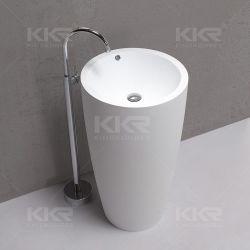 Hôtel cinq étoiles Salle de bains bassins bassins autostable évier en pierre acrylique