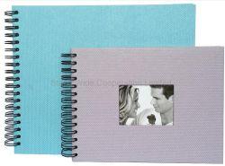 Briefpapier-schwarzes Pappeinklebebuch, DIY Foto-Album-Speicher-Buch