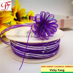 Naves florales Iridescent tire de la cinta de opciones para la decoración de Arcos/Ajuste//Xmas