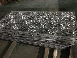Folha de metal de alumínio perfurados decorativas Barreira de Segurança de Instrumentos