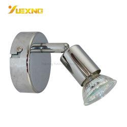 Innen-Spur der Decken-GU10 strahlt Max50W LED weißen Chrom-Eisen-Scheinwerfer an