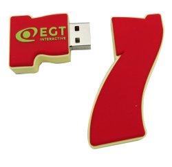 Резиновые и ПВХ/силикон флэш-накопитель USB индивидуальные обувь модель USB Flash Disk