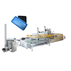 Nahrungsmittelbehälter-verwendetes Vakuum, das den Maschine PS-Schaumgummi-Mittagessen-Kasten herstellt Maschine bildet