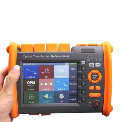 고품질 광학시간 도메인 반사계 Sm mm 1310 / 1550nm 단일 모드 PON OTDR 50dB