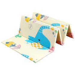 Faltbare Karikatur-Baby-Spiel-Matten-Kind-Spiel-Wolldecken