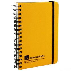 Het met een laag bedekte Spiraalvormige Notitieboekje Customzied van de Dekking A4/A5 van het Document