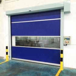 L'empilage haute vitesse rapide automatique de porte de garage industrielle