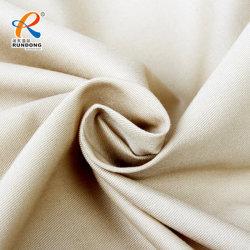 100% coton 10*10/80*46 Plain teints/retardateur de flamme de feu/tissu résistant à armure sergé tissu/semoir Textile pour vêtements de travail Vêtement de protection/sécurité/Vêtements