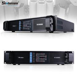 Karaoke amplificador de áudio estéreo Fp20000T 4 canais de amplificador potente sistema PA