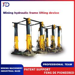 L'exploitation minière Dispositif de levage du châssis hydraulique Dispositif de levage combiné spécial pour le montage et démontage du support hydraulique