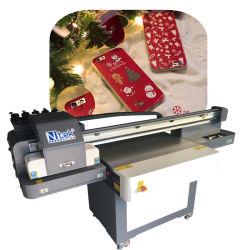 Inyección de tinta baratos impresora UV de cama plana teléfono caso máquina de impresión