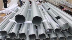 Анодированный алюминиевый профиль, настраиваемые строительных материалов