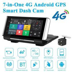 4G カーダッシュカメラ Android ADAS GPS Navi WiFi ADAS 、 LDWS 、 FCWS カー DVR カメラレコーダー