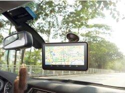 Navigatore portatile di GPS dell'automobile del sistema di percorso di GPS del veicolo Android4.4 DVR 7inch