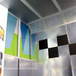 Diseño de Stand de exposición 3*3 Soporte de la pantalla Tamaño de la Nueva Feria de diseño de moda