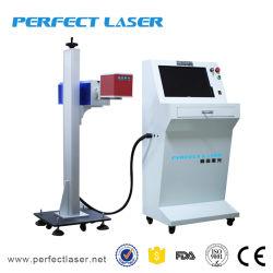 machine de marquage au laser CO2 Type de convoyeur sur la ligne de production de jeans pour
