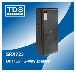 Dual 15inch Professional Audio Equipment Srx725