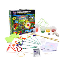Ausbildungs-Wissenschafts-Spielwaren-Kristallfertigkeiten der Luftblase Erscheinen bildend