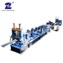自動PLC制御OEMのサービスによって電流を通されるステンレス鋼C Z Uの支柱母屋によって形づけられるチャネルのプロフィールの風邪-前か形作る引かれたロールか圧延またはローラー機械装置を作る