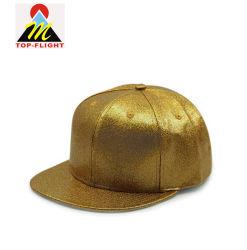 Mode nouveau style de conception en cuir de PU Snapback Hip Hop Hat