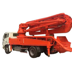 高品質のトラックによって取付けられる具体的なセメントブームポンプトラック
