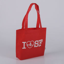 Compare a compartilhar o logotipo personalizado promocional saco não tecidos de Compras de supermercado