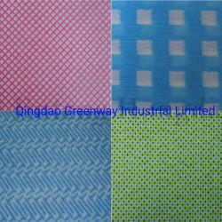 Vendas quente Spunlace Nonwoven Fabric de pano de limpeza doméstica