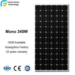 Alto comitato efficiente di PV del monocristallo di energia solare 340W