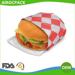 D'aluminium pour hamburger d'emballage du papier